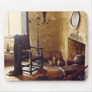 A Lovely Medieval English Room II Mouse Mat