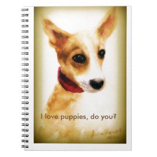 A lovely puppy notebook! notebook