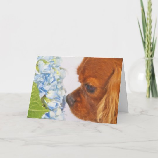 A Lovely Sweet Moment Greeting Card