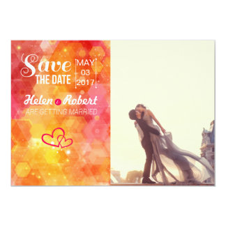 A lover couple in front of Louvre 13 Cm X 18 Cm Invitation Card