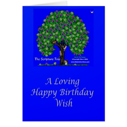 A Loving Happy Birthday Wish Card