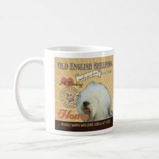 A Loving Old English Sheepdog Makes Our House Home Coffee Mug