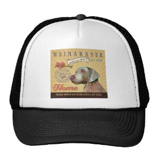 A Loving  Weimaraner Makes Our House Home Cap