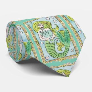 A Lucky Undersea Moment Tie
