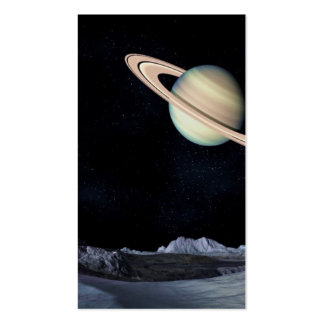 A LUNAR VIEW (saturn outer space) ~.jpg Pack Of Standard Business Cards