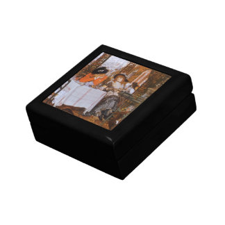 A Luncheon (Petite Dejeuner) by James Tissot Small Square Gift Box