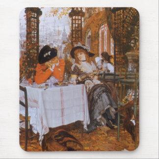 A Luncheon (Petite Dejeuner) by James Tissot Mouse Pads