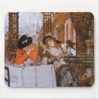 A Luncheon Petite Dejeuner by James Tissot Mouse Pads