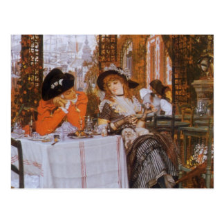 A Luncheon (Petite Dejeuner) by James Tissot Postcard