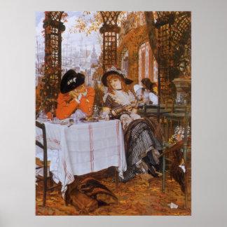 A Luncheon (Petite Dejeuner) by James Tissot Poster