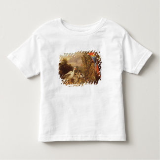 A Macaw, Ducks, Parrots and Other Birds in a Lands Toddler T-Shirt