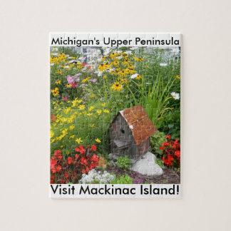 A Mackinac Island Flower Garden Puzzle