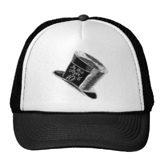 A Mad Hatter Hat in Black