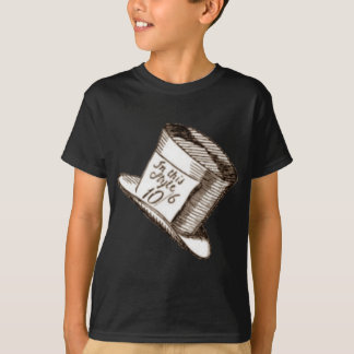 A Mad Hatter Hat in Sepia T-Shirt