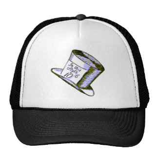 A Mad Hatter Hat with Blue Tint