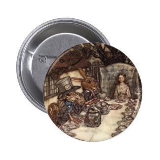 A Mad Tea Party 6 Cm Round Badge