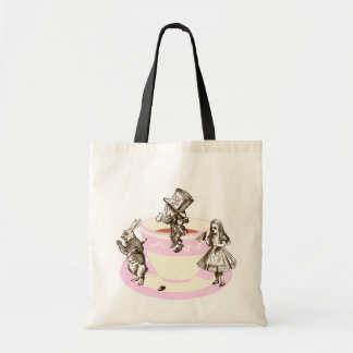 A Mad Tea Party Budget Tote Bag