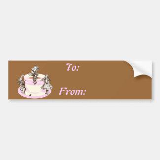 A Mad Tea Party Bumper Sticker