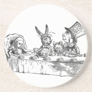 A Mad Tea Party Coaster