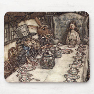 A Mad Tea-Party Mouse Mat