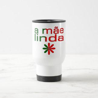 A Mãe Linda Portugal Flag Colors Coffee Mugs