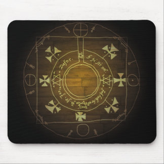 A Magic Circle for your desk Mouse Mat