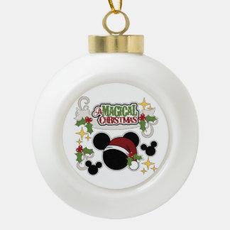 A Magical Christmas Ceramic Ball Christmas Ornament