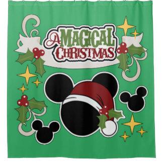 A Magical Christmas Shower Curtain