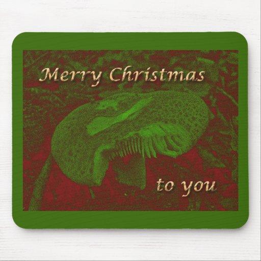 A Magical Mystical 'Shroom for Christmas Mousepads