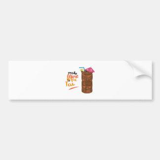 A Mai Tai Bumper Sticker