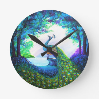 A Majestic Morning Wall Clock