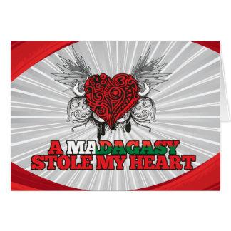 A Malagasy Stole my Heart Card