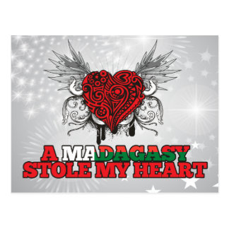 A Malagasy Stole my Heart Postcard
