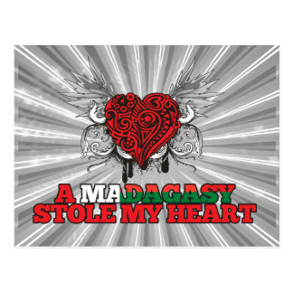 A Malagasy Stole my Heart Postcard