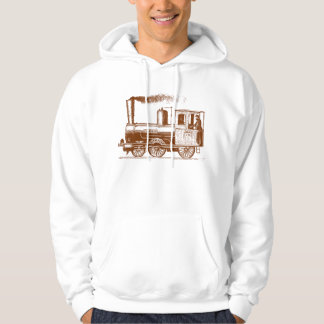 A Man and His Train - Walnut Hoodie
