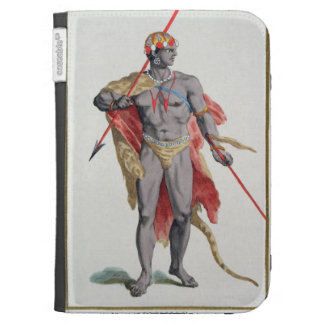 A Man from the Caribbean, 1780 (coloured engraving Cases For Kindle