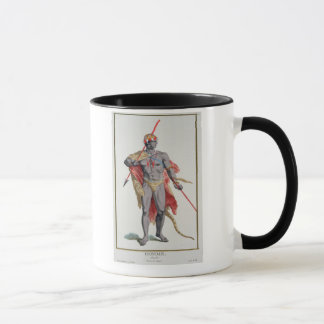 A Man from the Caribbean, 1780 (coloured engraving Mug