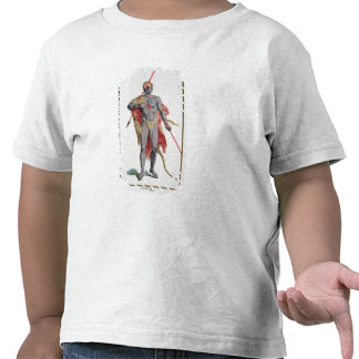 A Man from the Caribbean, 1780 (coloured engraving T-shirt