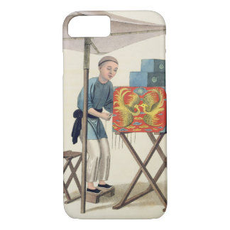 A Man with a Raree-Show, plate 10 from 'The Costum iPhone 8/7 Case