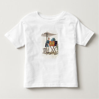 A Man with a Raree-Show, plate 10 from 'The Costum Toddler T-Shirt
