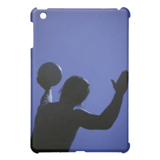 A man with a volleyball iPad mini case