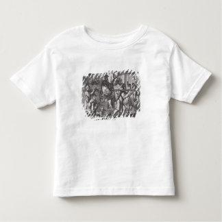 A Mandarin in a Sedan Chair, illustration from a d Toddler T-Shirt