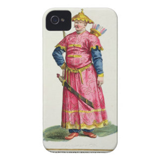A Mandarin Warlord from 'Receuil des Estampes, Rep iPhone 4 Cases
