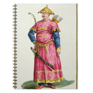 A Mandarin Warlord from 'Receuil des Estampes, Rep Notebooks