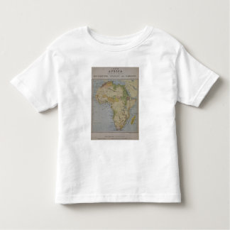 A Map of Africa to Illustrate the Travels of David Toddler T-Shirt