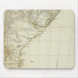 A map of South America southern section Mouse Mat
