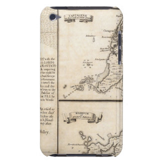 A Map of the British Empire in America Sheet 20 iPod Touch Cases