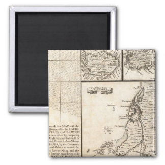 A Map of the British Empire in America Sheet 20 Magnet