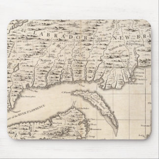 A Map of the British Empire in America Sheet 3 Mouse Mat