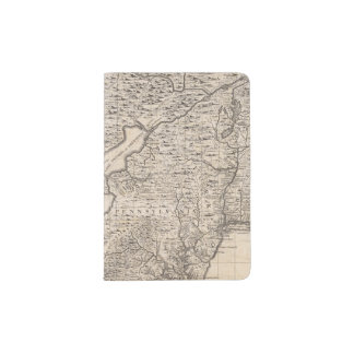 A Map of the British Empire in America Sheet 6 Passport Holder